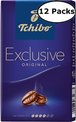12 Packs Tchibo Exclusive Ground Coffee 8.8oz Each