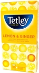 Tetley Lemon & Ginger 25 Individual Tea Bags
