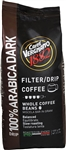 Caffe Vergnano Dark Roast Filter Drip Coffee 100% Arabica Whole Beans 2.2lb/1kg