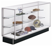 Metal Framed Extra Vision Glass Front Display Case