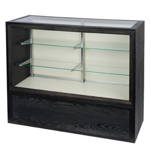 Boutique Style Full Vision Glass Front Display Case