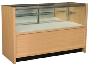 Bold Half Vision Wood Display Cases