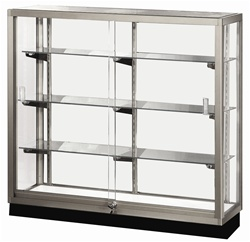Streamline Aisle Glass Display Cases