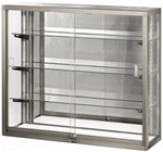 Streamline Glass Back Countertop Display Cases