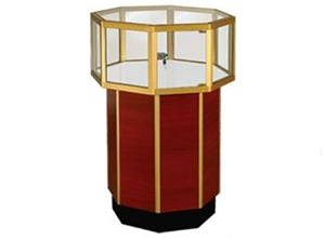 Streamline Jewelry Octagonal Pedestal Showcases