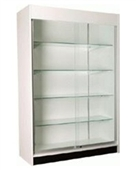 "72"" Glass Trophy Case Display Cabinets - Value E"