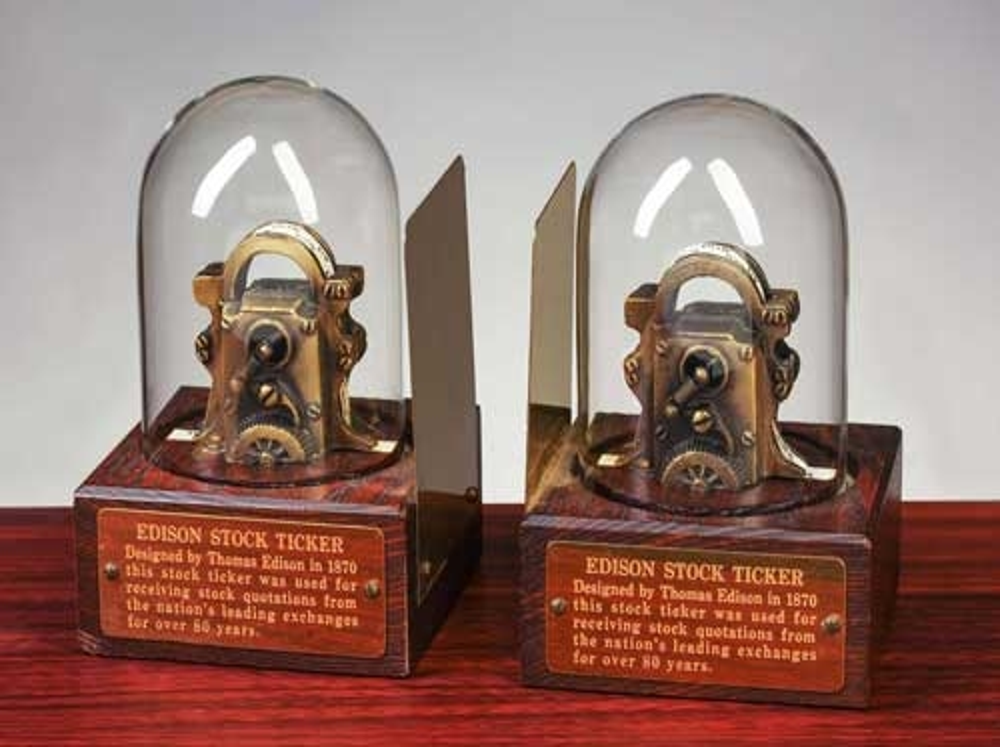 Stock ticker market replica tape