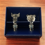 Mikasa Bull & Bear Crystal Wine Stoppers