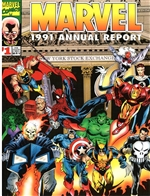 1991 Marvel Annual Report - NYSE Cover, #1