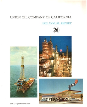 1962 Union Oil Annual Report