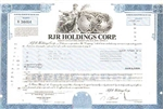RJR Holdings Corp. Stock Certificate
