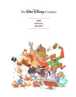 1990 Walt Disney Company Annual Report - Disney Afternoon Cover