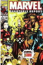 Framed 1994 3rd Quarter Marvel Report – X Generation