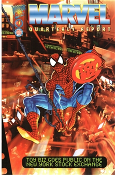 Framed 1995 1st Quarter Marvel Report – Spider-Man