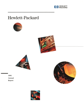 1991 Hewlett-Packard Annual Stock Report