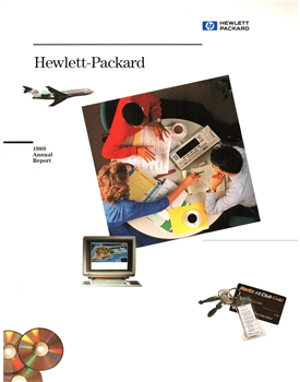 1989 Hewlett-Packard Annual Stock Report