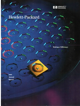 1993 Hewlett-Packard Annual Stock Report