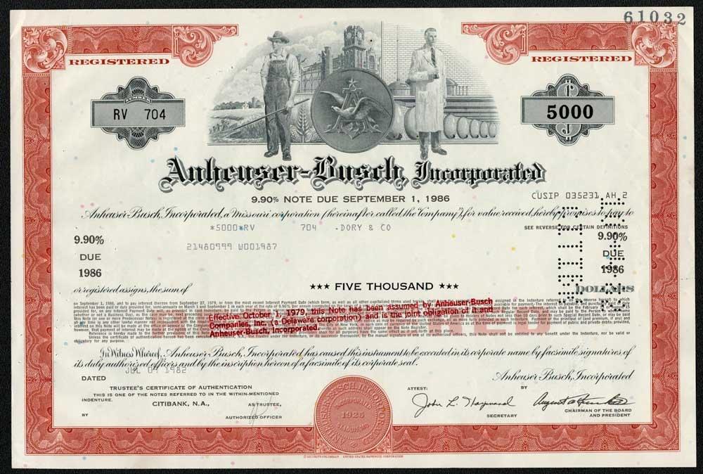 apple stock certificate