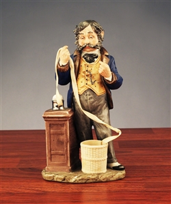 "Norman Rockwell's ""The Tycoon"" by PUCCI - Stock Broker Figurine"