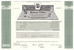 Boston Celtics Stock Certificate