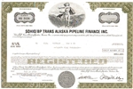 SOHIO/BP Trans Alaska Pipeline Finance Inc. Bond Certificate
