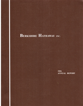 2006 Berkshire Hathaway Annual Report