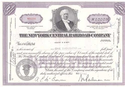 The New York Central Railroad Company Purple