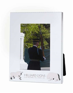 Bull and Bear Award Frame (holds 5x7 image)