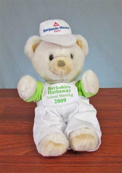 2009 Berkshire Hathaway Bear - Warren Buffett