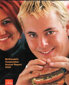 2000 McDonald's Annual Report