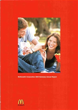 2004 McDonald's Summary Annual Report