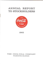 1962 Coca Cola Annual Report