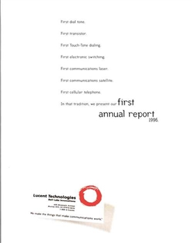 1996 Lucent Technologies Annual Report