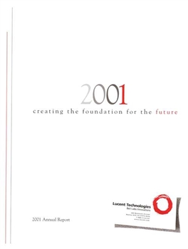 2001 Lucent Technologies Annual Report