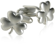 Lucky Irish Clover Cufflinks