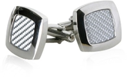 Robust Light Carbon Fiber Cufflinks