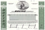 The Boeing Company Specimen Stock Certificate