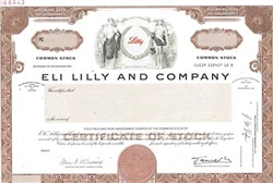 Eli Lilly and Company Specimen Stock Certificate