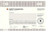 Apple Computer, Inc.  Specimen Stock Certificate -1998