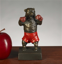 Boxing Wall Street Bear Statue