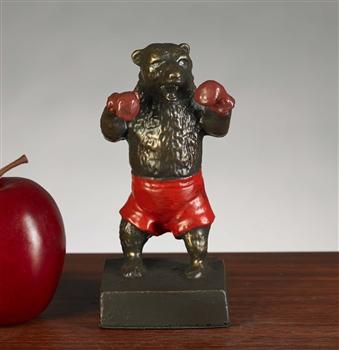Boxing Wall Street Bear Statue Boxing Bear Statue