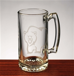 Wall Street Bear Beer Mug  - 25 oz.