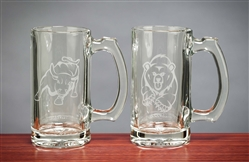 Bull & Bear Beer Mugs 12.5 Oz - Cool Beer Mugs