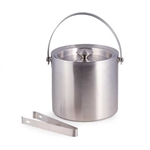 Stainless Steel 5 qt. Double Wall Ice Bucket