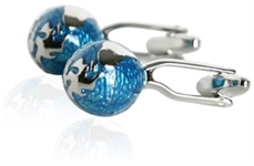 Abstract Globe Cufflinks