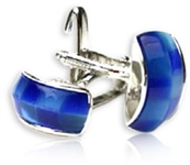 Way Too Blue Cufflinks