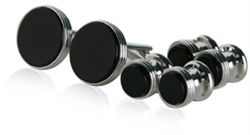 Onyx Cufflinks & Studs for Men