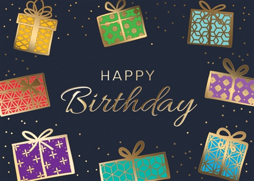 Birthday Presents Birthday Card Premium Greeting Card