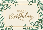 Appreciation Birthday Card - PREMIUM GREETING CARD