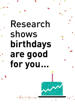 Birthday Research Birthday Card - Greeting Card